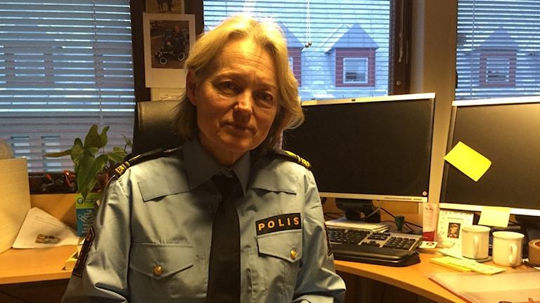 Christina Lundin förundersökningsledare polisen Falun/Borlänge