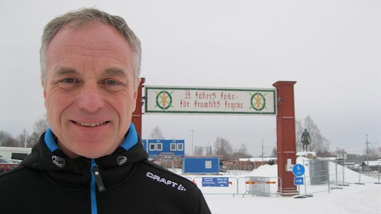 Anders Selling, VD för Vasaloppet. Foto: Anna Lindgren