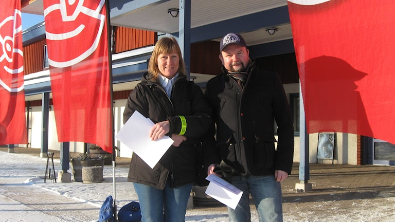 Helena Andersson och Christer Gåsfors från Smedjebacken deltar i årets A-dagar i Mora. Foto Stefan Ubbesen