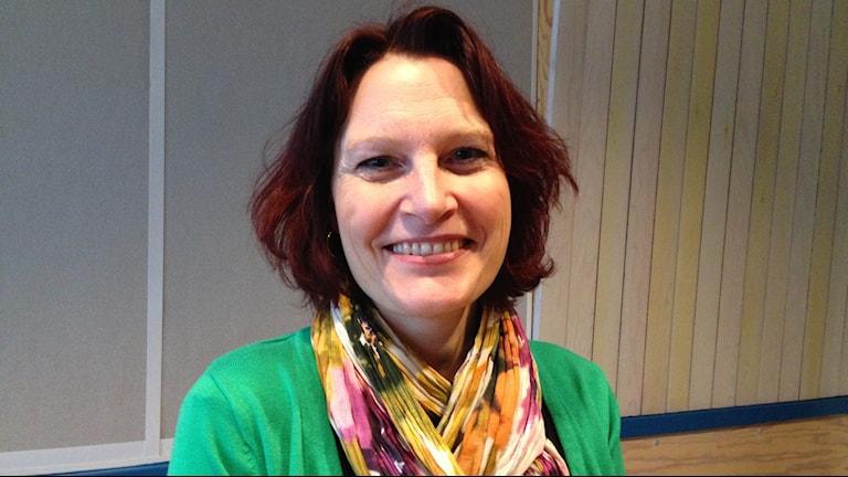 Veckans nätverksgäst i P4 Dalarna Förmiddag Birgitta Liljeblom. Foto: Sveriges Radio