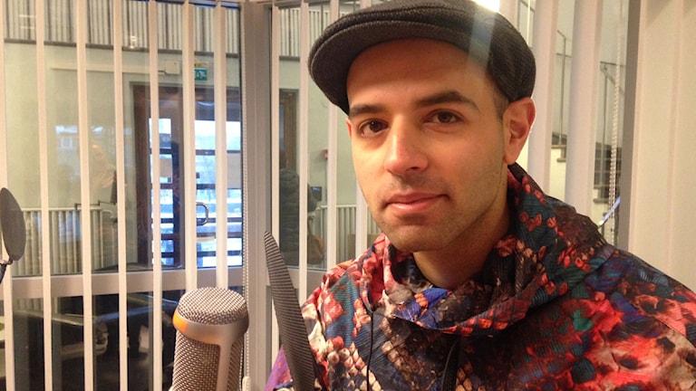 Omid Massali från Falun