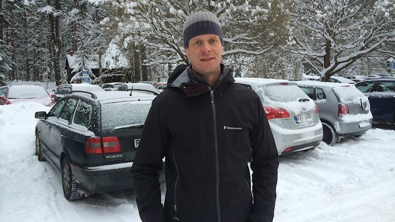 Säkerhetschefen  Anders Nordahl vid Landstinget Dalarna