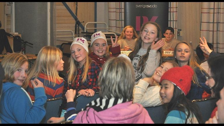 Djuråsskolan 5A. Foto: Tobias Gruhs.