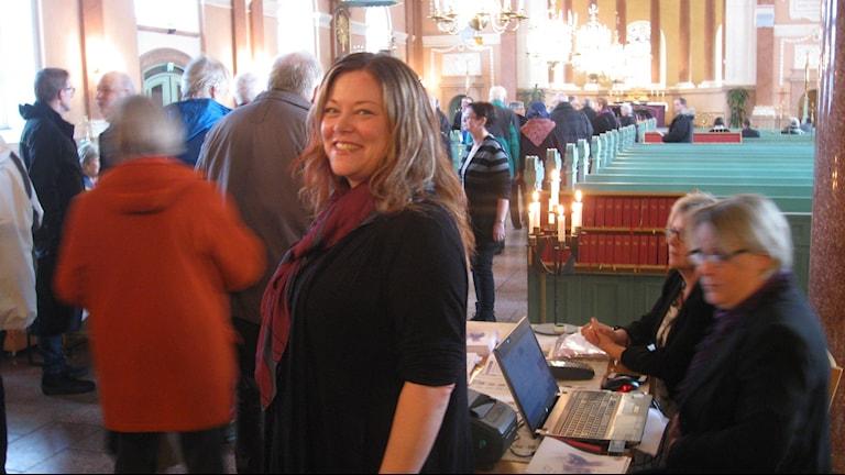 Maria Torstensson, kultur och fritidschef i Älvdalens kommun. Foto: Stefan Ubbesen