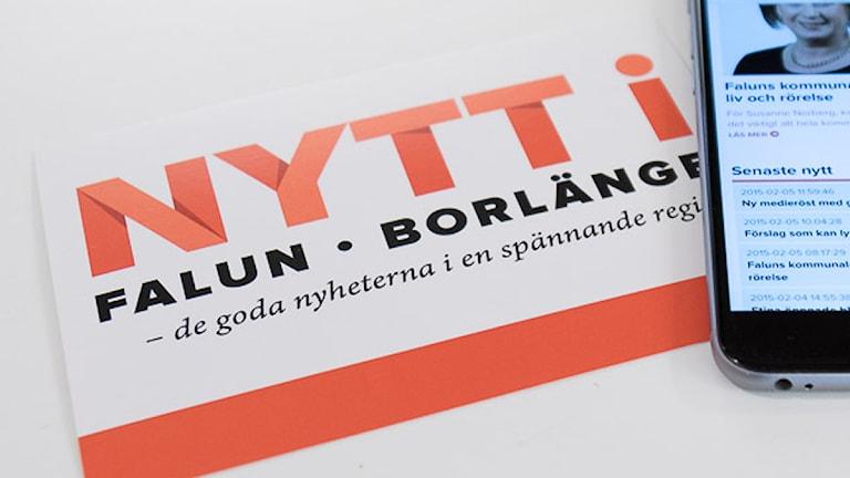 Nytt i Falun-Borlänge vill ge lokala, goda, nyheter till sina läsare.