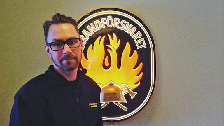 Peter Bäcke, ställföreträdande räddningschef på Mora brandkår. Foto: Anna Lindgren