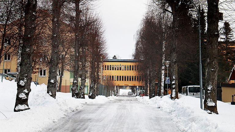 Rättspsykiatriska kliniken i Säter. FOTO: Sofie Lind/Sveriges Radio.