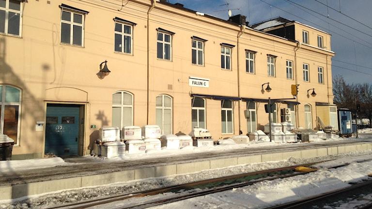 Tåget från Stockholm till Falun 22:15 ställdes in på onsdag kväll.