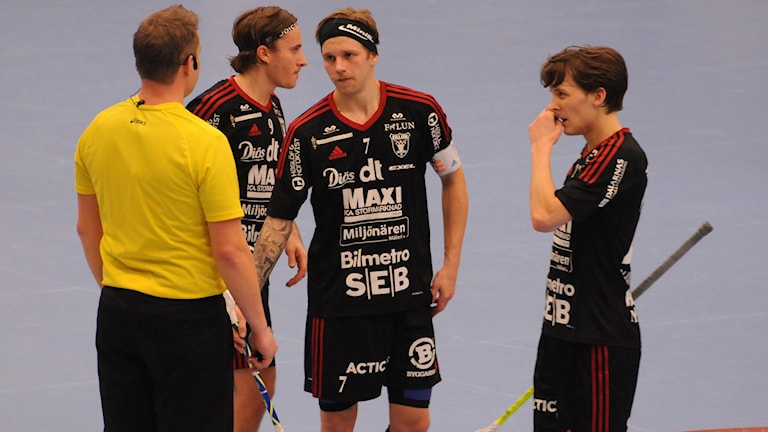IBF Falun, Alexander Galante-Carlström, Rasmus Enström, Emil Johansson, innebandy