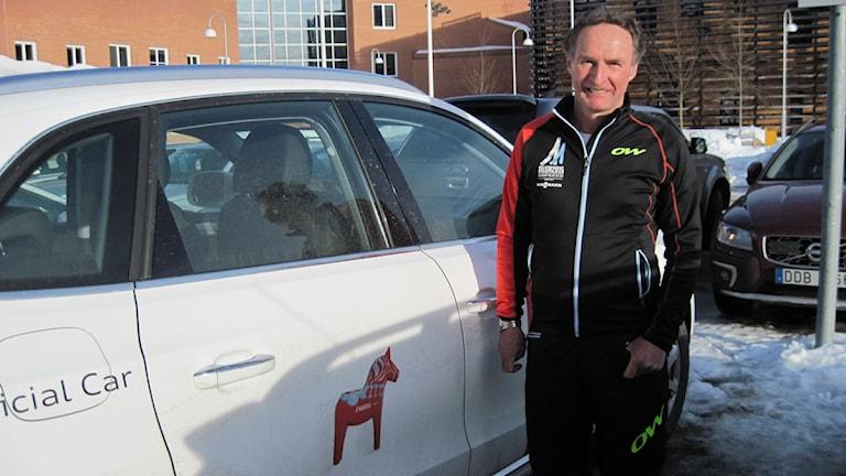 Arne Andersson, volontär på skid-VM