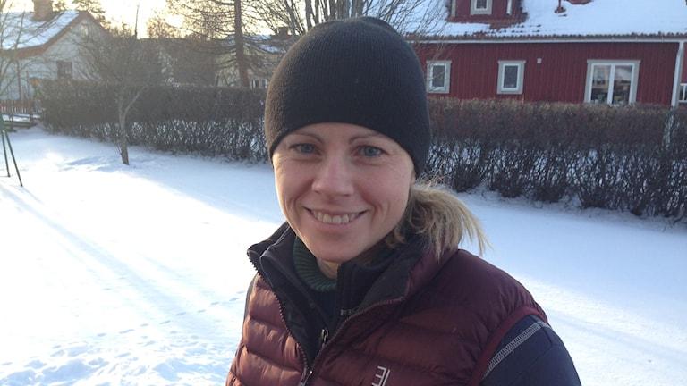 Li Johansson foto:Sveriges Radio