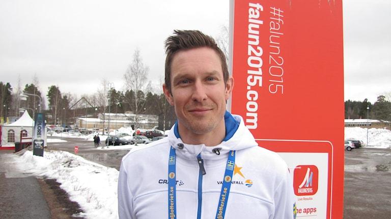 Johan Granat, Borlänge, är tränare i landslaget,