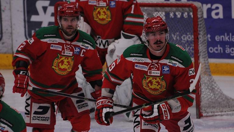 Kevin Mitchell, Ty Wishart, Mora IK, hockey, ishockey