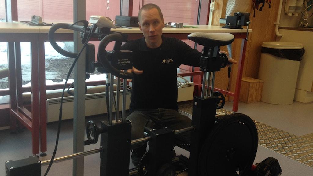 Jens Westergren är verksamhetsledare vid Högskolan Dalarnas Idrottslaboratorium Livi.