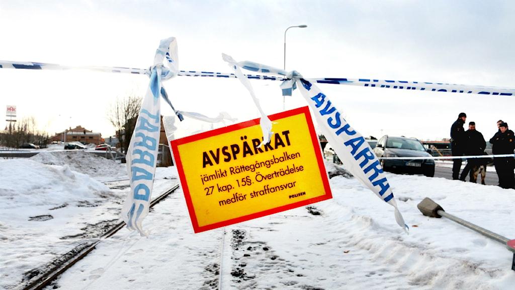 En person påträffades död i Falun i samband med VM. FOTO: Sofie Lind/Sveriges Radio.