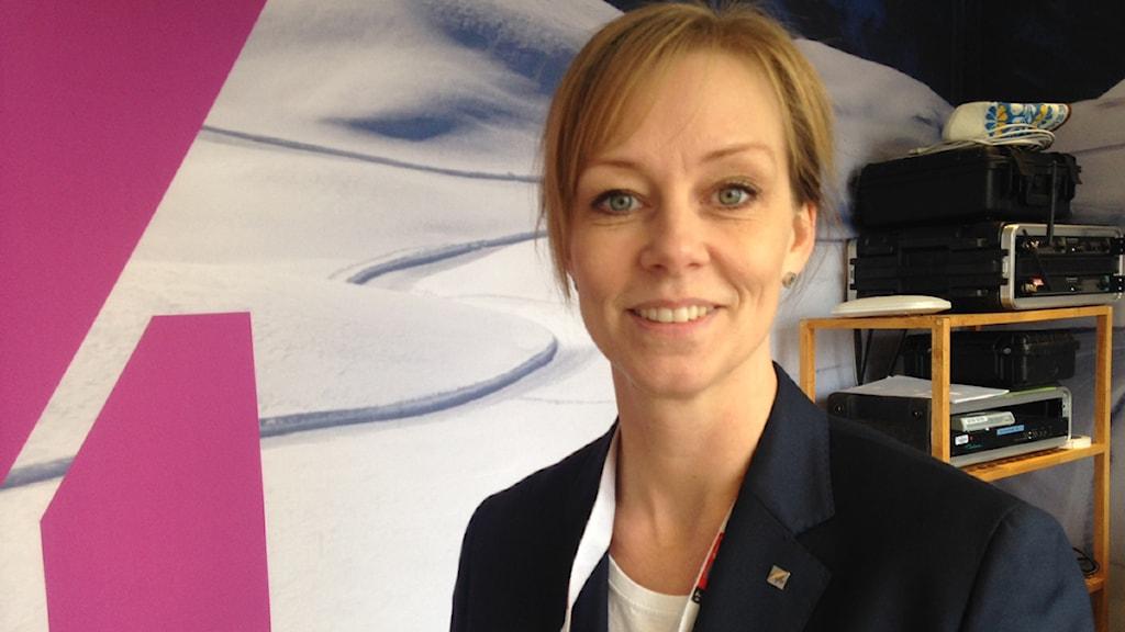 Ulrika Back Eriksson, ansvarig för logi på VM