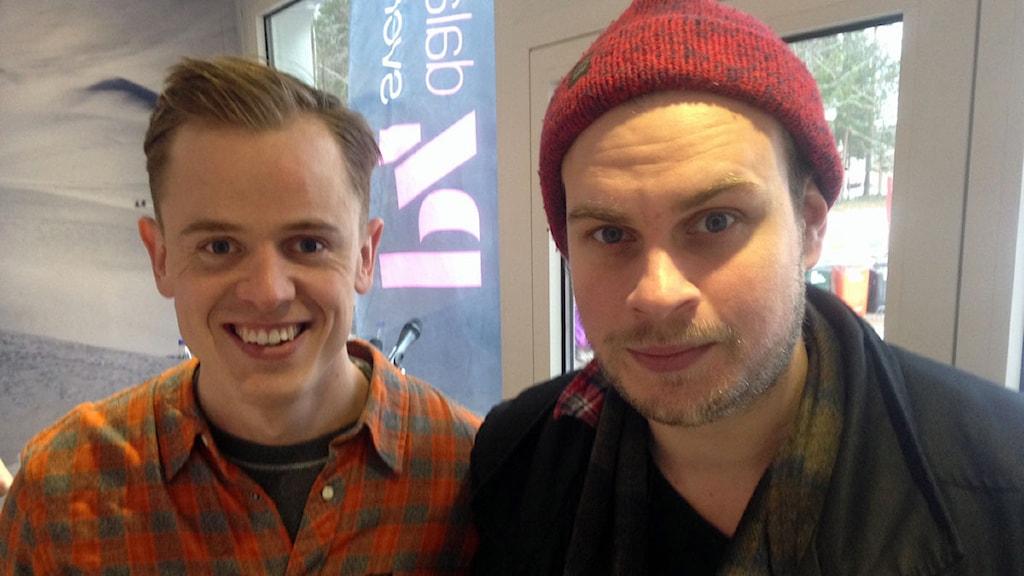 Jon Kleppenes och Fredrik Lilja från Top Cats