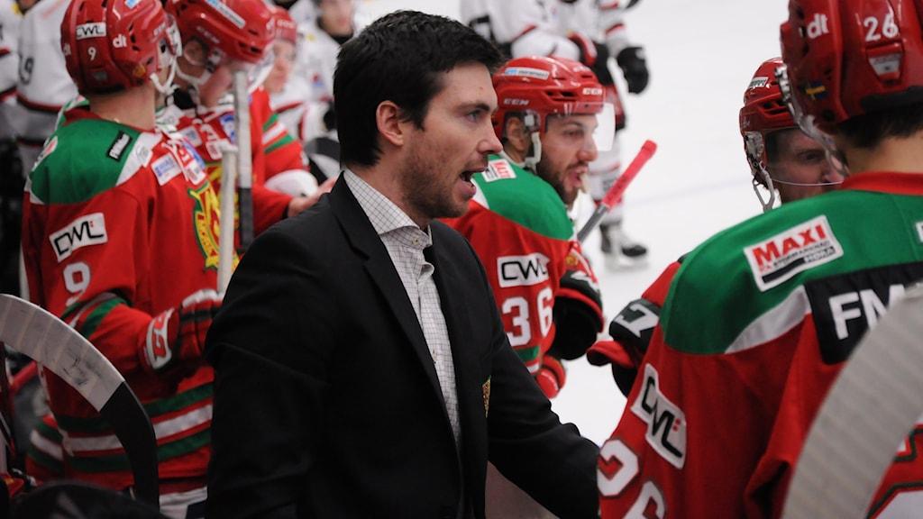 Jeremy Colliton, Mora IK, ishockey, hockey