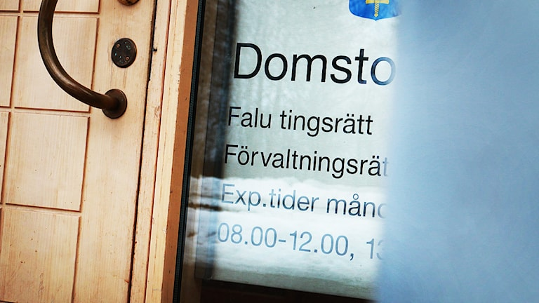 Falu tingsrätt. FOTO: Sofie Lind/Sveriges Radio.