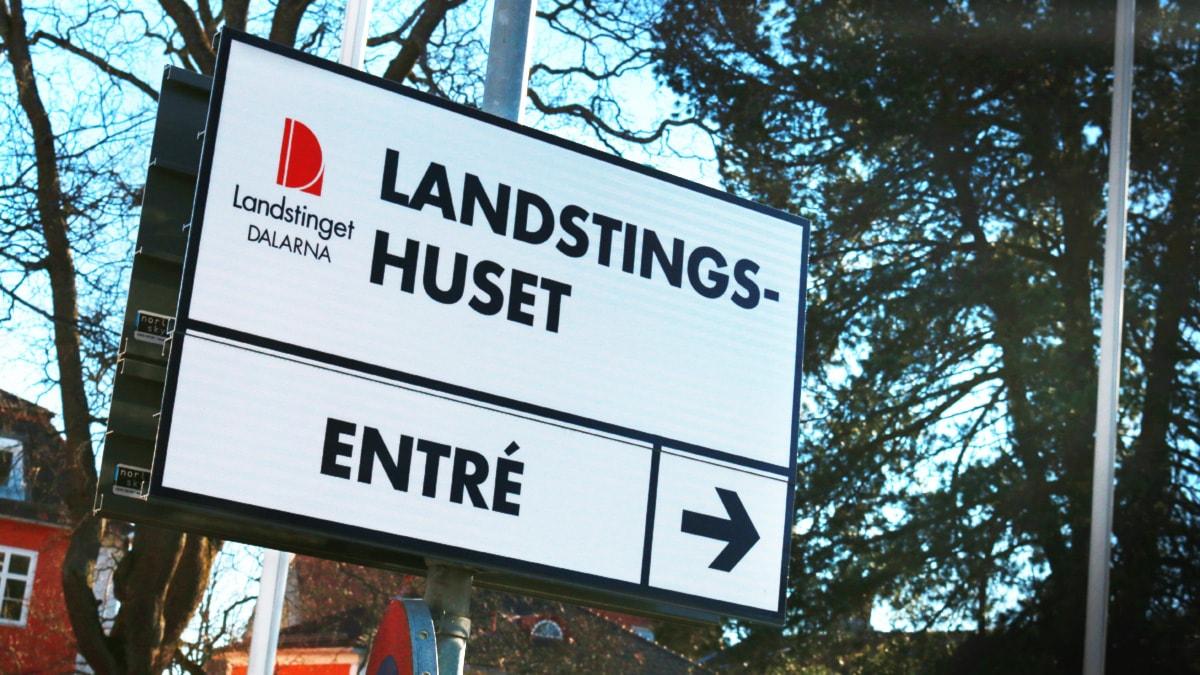 Landstinget Dalarna. FOTO: Sofie Lind/Sveriges Radio.