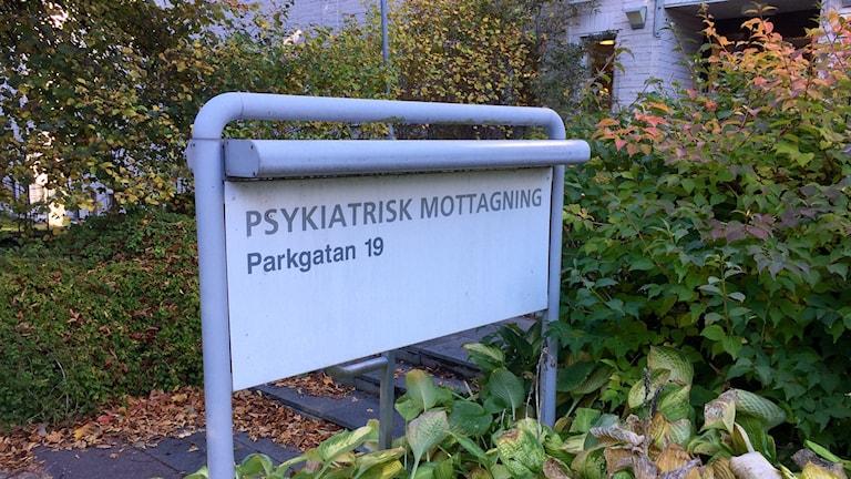 Psykiatrin i Falun.