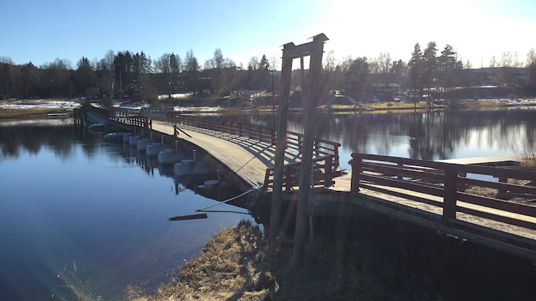 Flottbron i Gagnef