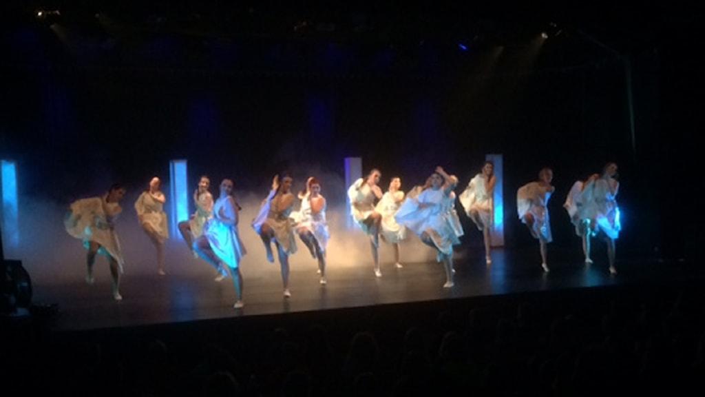 Dansföreställningen Frost i Djurås