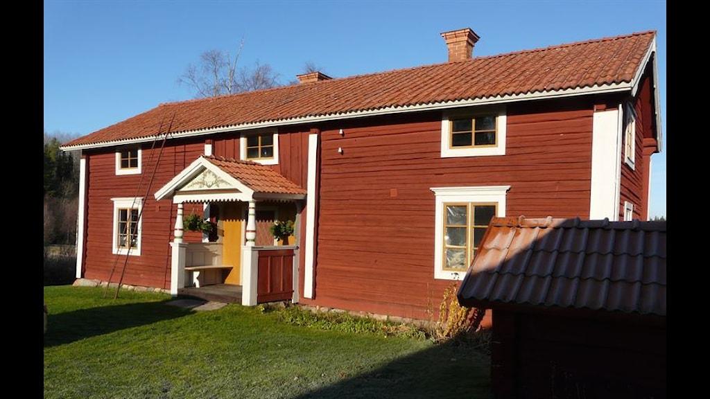 Sammilsgården i Gulleråsen, vinnare av Dalarnas byggnadsvårdspris.