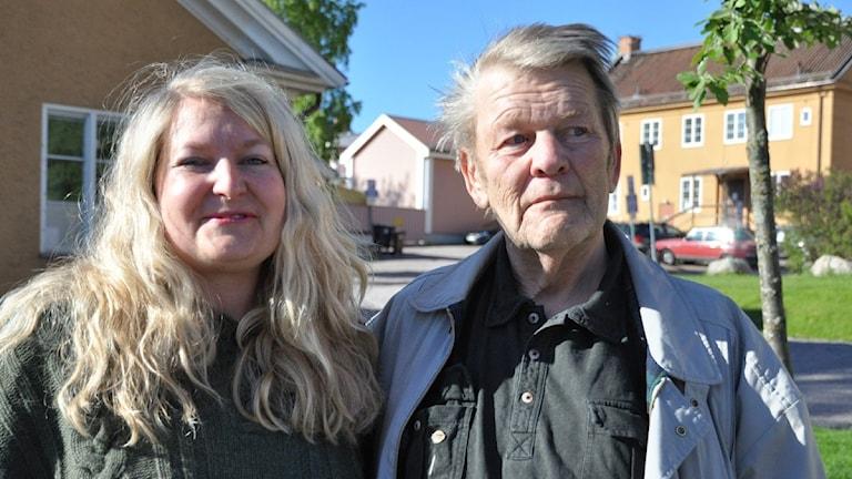 Annette Kruse och Ove Stenlund på RSMH Dalarna