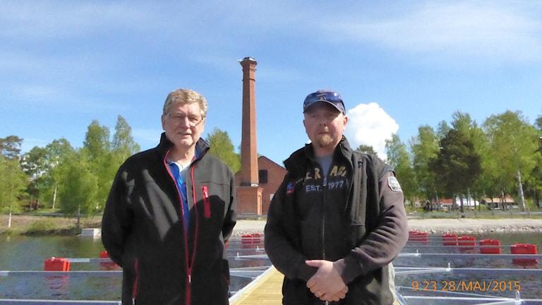 Sven Olov Ytterholm och Peter Hjelm (Foto: Johan Thorén)