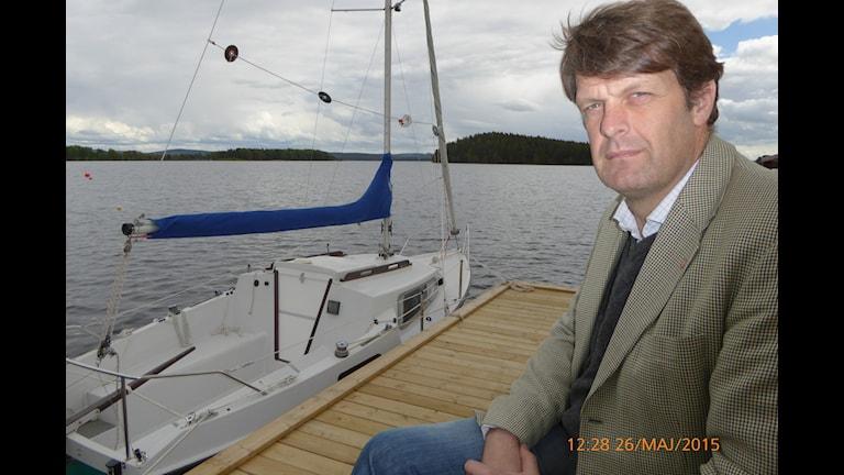 Gustav Wallheden startar etablering av sjöräddning i Dalarna (Foto: Johan Thorén)