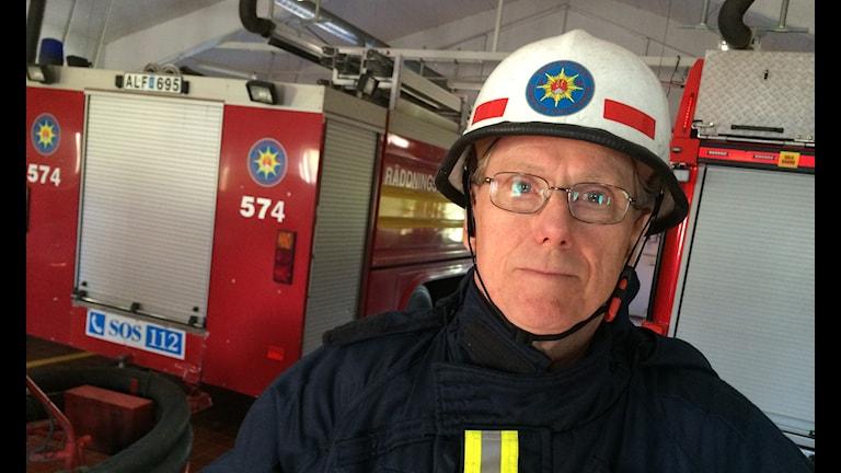 Brandmannen Lars-Erik Söderberg