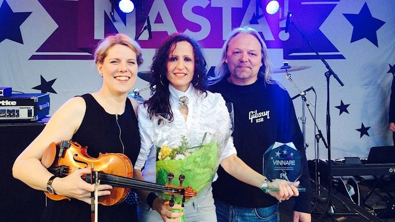 Sofie Jonsson, Malin Jonsson och producenten Jonas Tornemalm