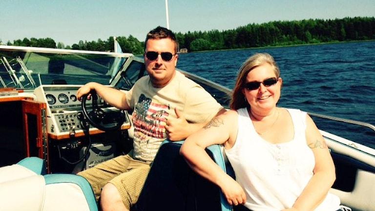 Erik Rombo och Annicka Norlin