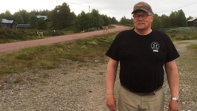 Benny Jonsson, ordförande för Idre Sameby. Foto: Stefan Ubbesen.