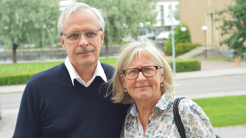 Ulf och Eva Bäck. Foto: Emma Hjortman.