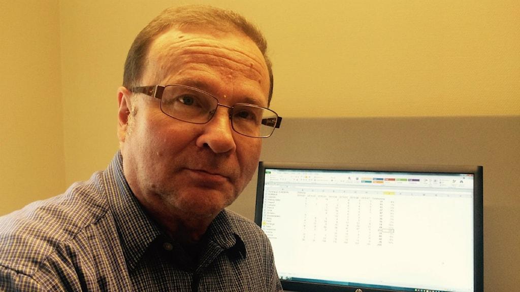 Jan Sundqvist är arbetsmarknadsanalytiker på Arbetsförmedlingen.
