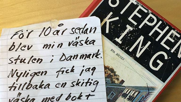 Stephen King-boken som försvann från Borlänge bibliotek