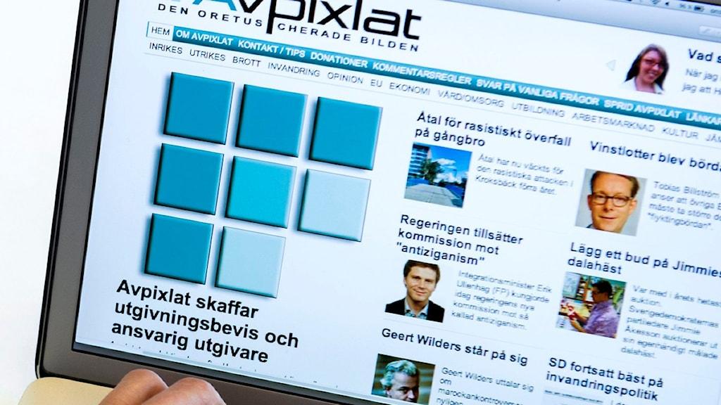 Bild från sajten Avpixlat