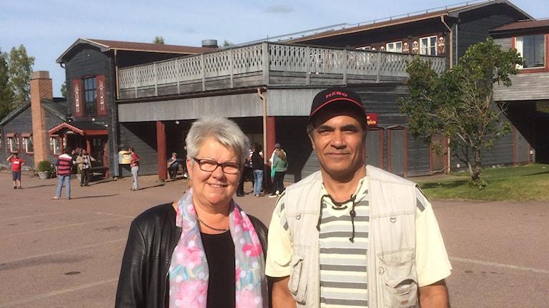 Annelie Kainu och Abdel Ed.