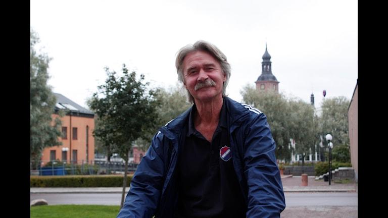 Ordförande i Kvarnsveden IK Olle Davidsson. Foto: Elina Mattsson.