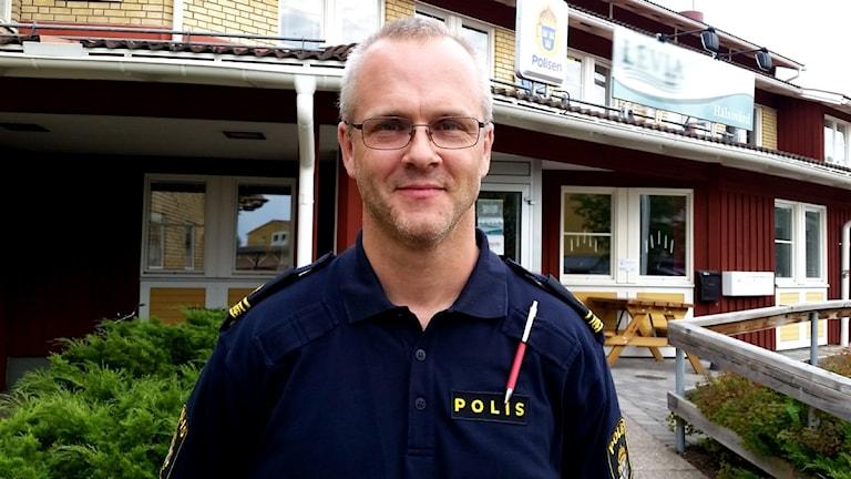 Lars Winther är stationsbefäl hos polisen i Rättvik.