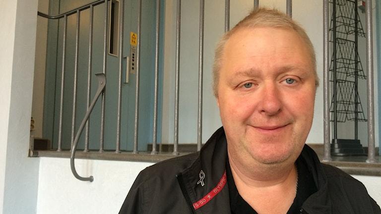 Lars Johannesson tävlar i fyrverkeri