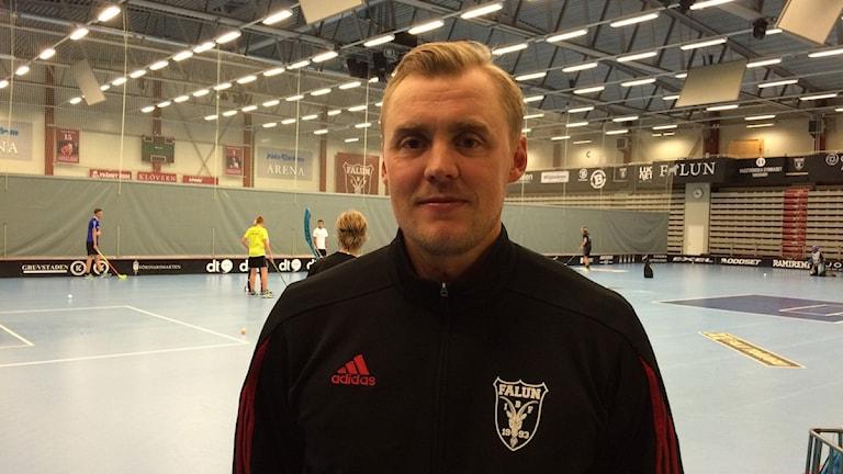 IBF Faluns Rickard Hedlund siktar på att skriva historia. Foto: Lars Svan/Sveriges Radio