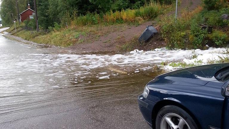 Översvämning i Torgås