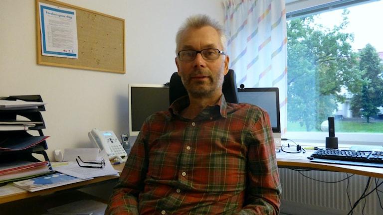 Pehr Guldbrand är chefsöverläkare i landstinget Dalarna. Foto: P4 Dalarna