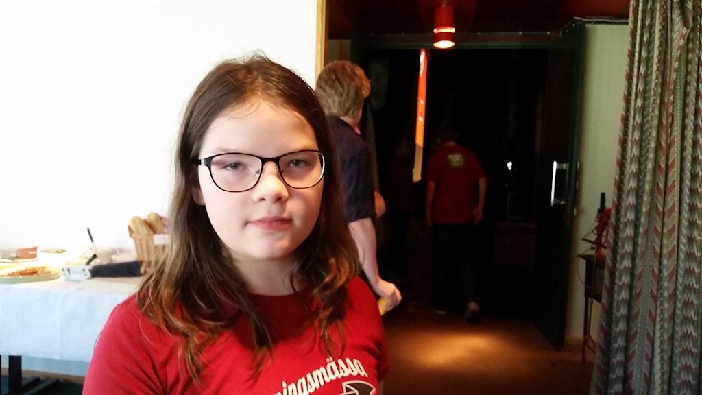 Elin Bergman är elevkulturombud från Älvdaklen
