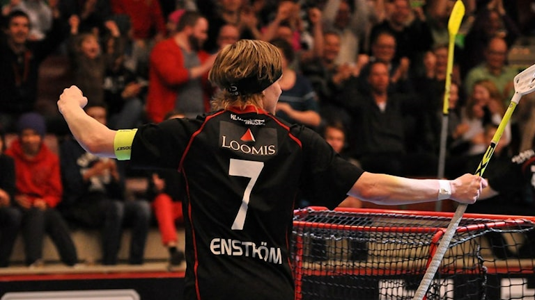 IBF Faluns Rasmus Enström, innebandy