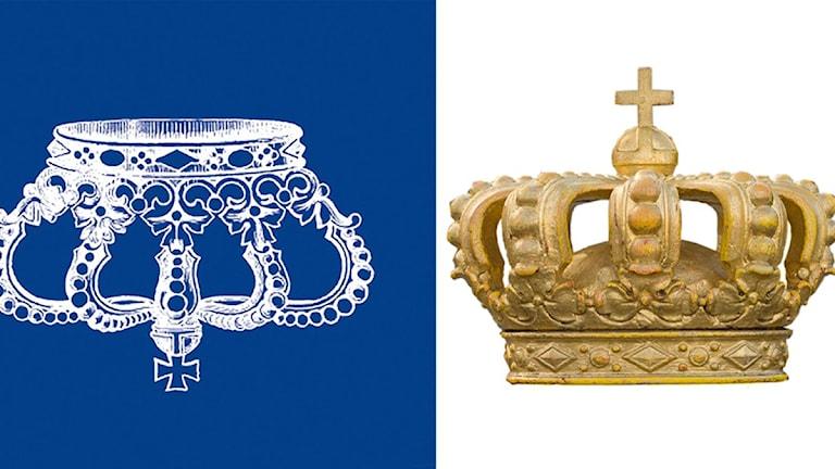 Republikanska föreningen och en kungakrona