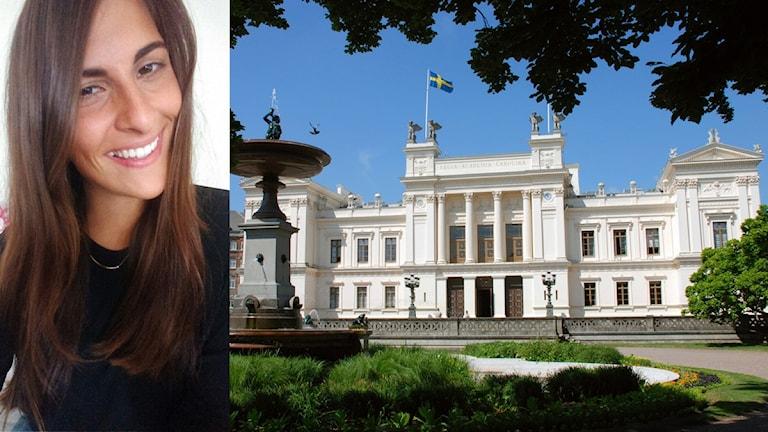 Caroline Eklund och Lunds universitet